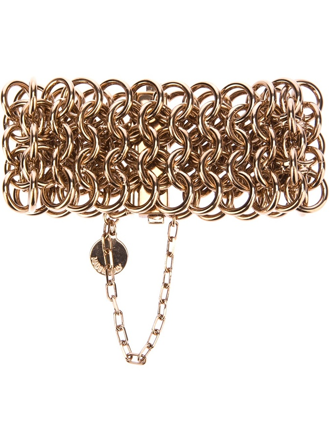 Rose gold-tone chunky chain bracelet /   STELLA MCCARTNEY