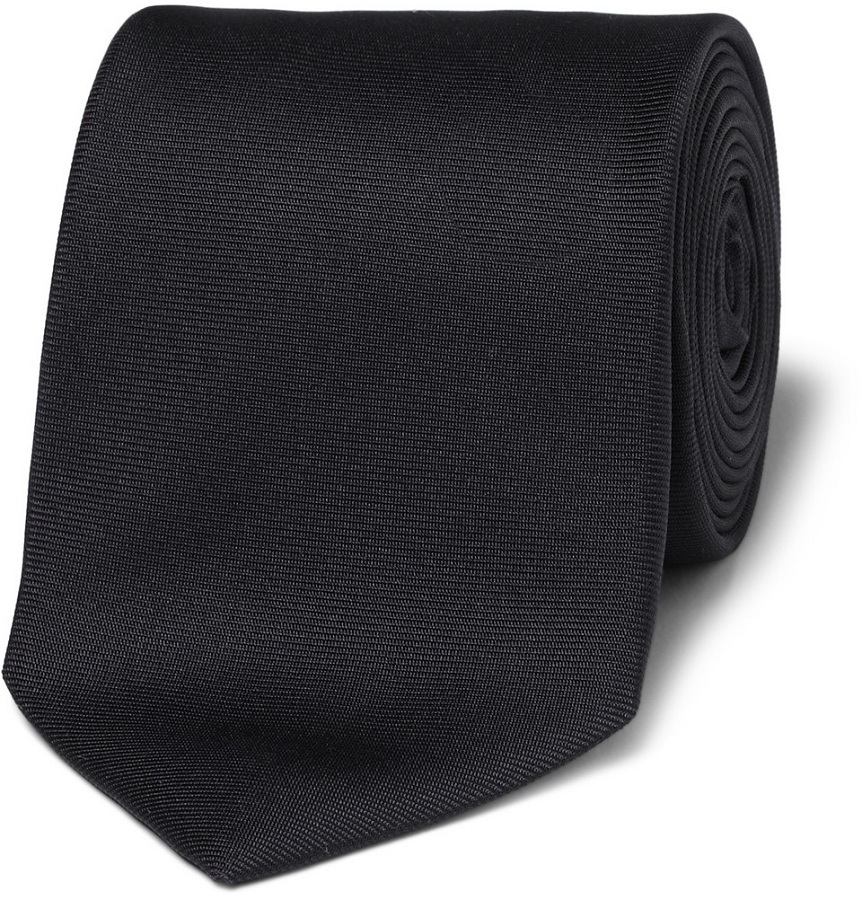 Woven-silk tie /   DRAKE'S