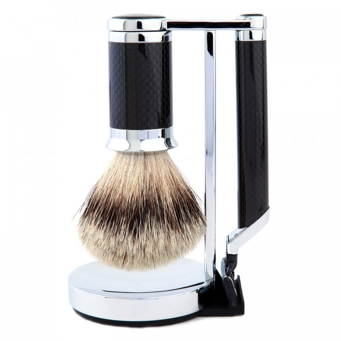 Carbon fibre shave set /   HOMMAGE