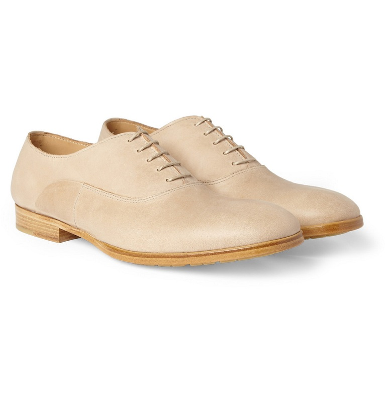 Leather oxford shoes /   MAISON MARTIN MARGIELA