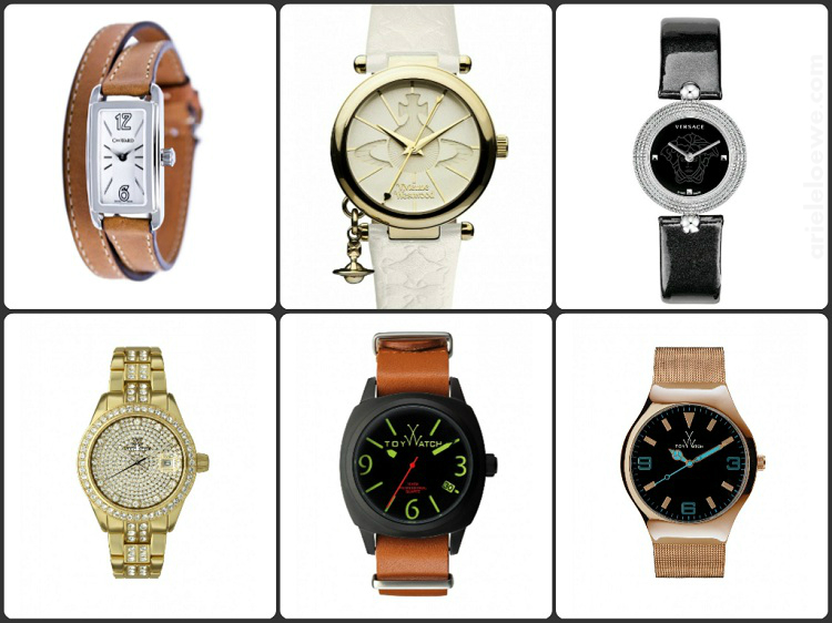 Ariele's Sunday Selection: Time To Tell Designer Watches