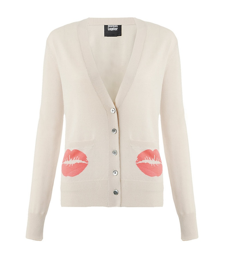 Pocket lip cardigan /   MARKUS LUPFER