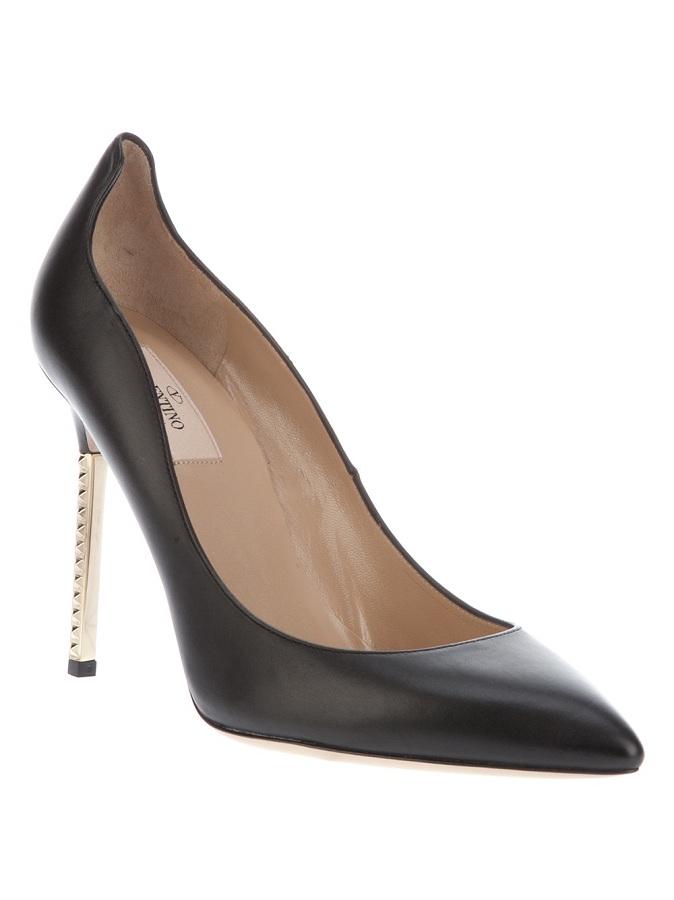 Metallic heel pump /   VALENTINO GARAVANI