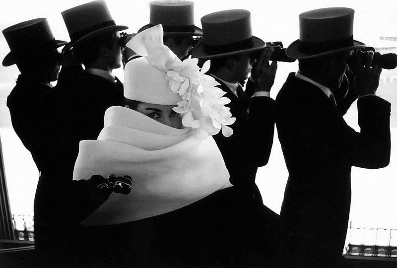 Frank Horvat / Givenchy Hat / 1958