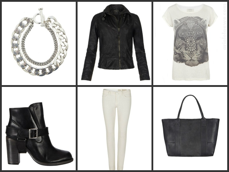 Black & White Featuring AllSaint