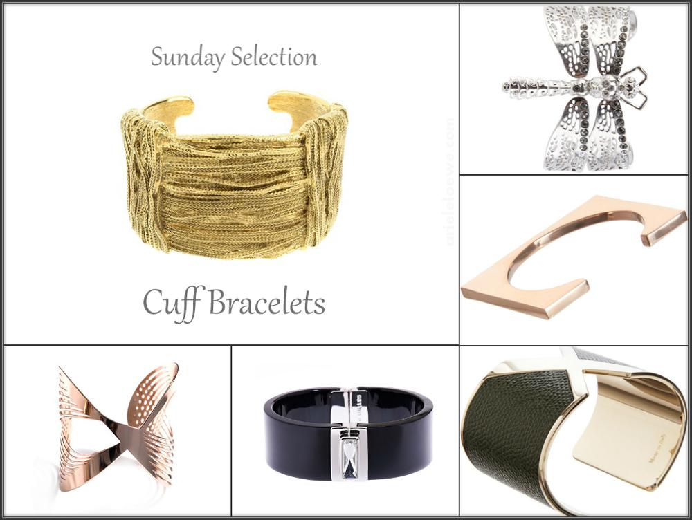 Ariele's sunday selection cuff bracelets