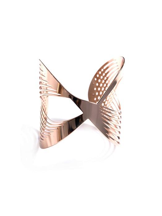 JOOMI LIM   infinity cut-out cuff bracelet