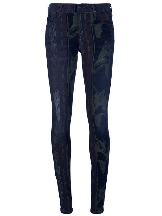 CITIZENS OF HUMANITY   'Avedon' printed skinny jean