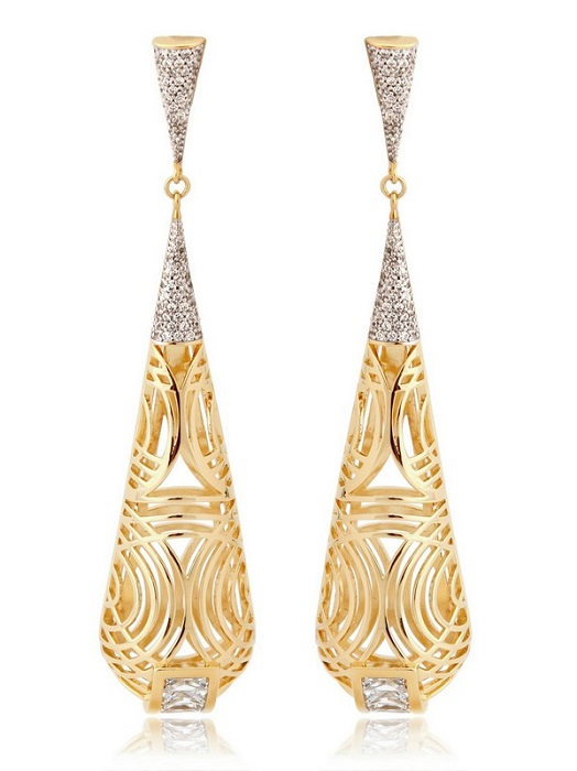 LARA BOHINC   Tatjana drop earrings