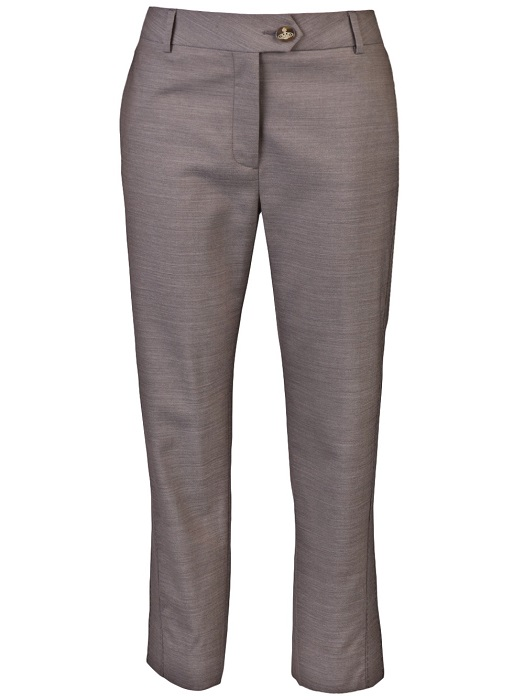 VIVIENNE WESTWOOD RED LABEL   beige cropped trousers