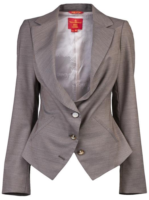 VIVIENNE WESTWOOD RED LABEL   beige classic blazer