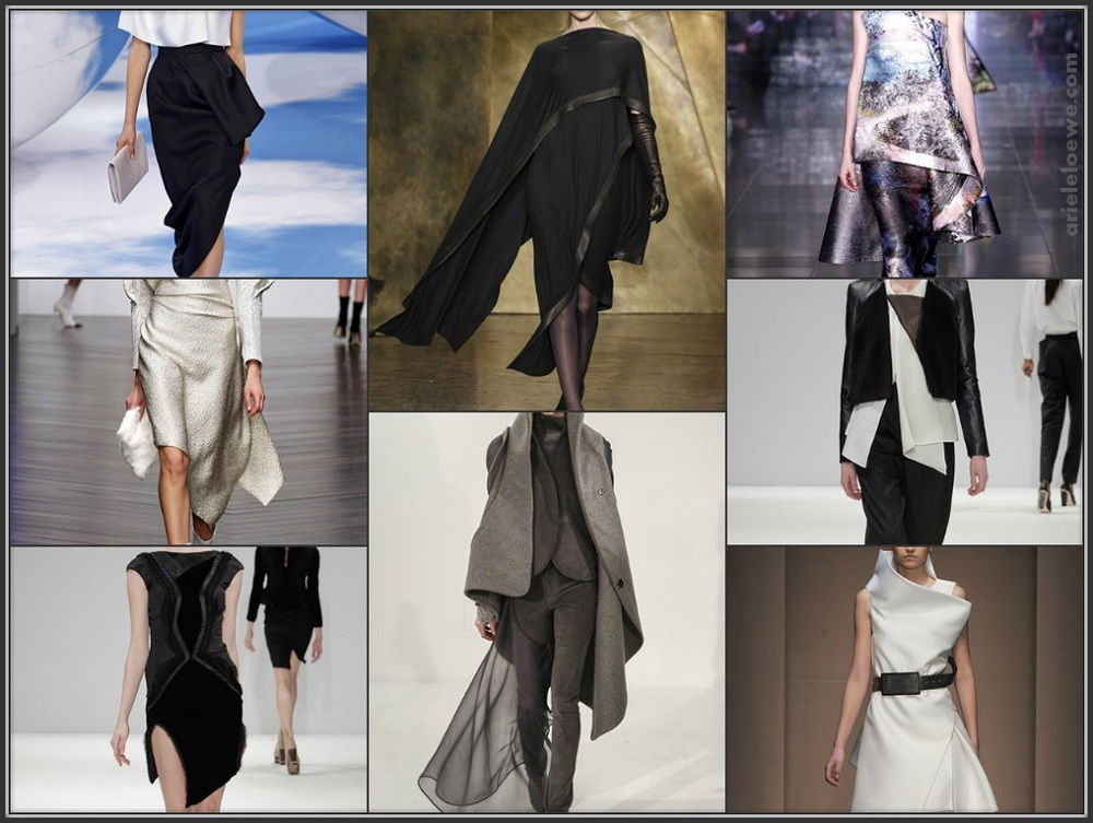 Theatrical Asymmetrical Autumn Winter 2013-14 Ready To Wear Collections