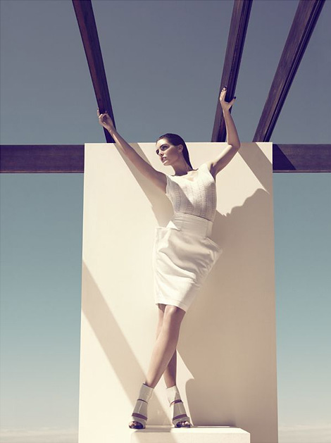 Camilla Akrans / Hilary Rhoda / Harper's Bazaar / 2008