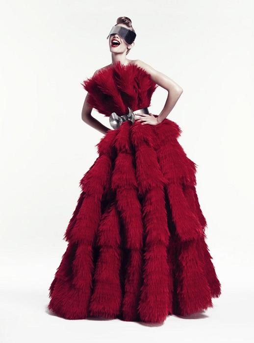 Paola Kudacki / Julia Stegner / Harper's Bazaar / 2012