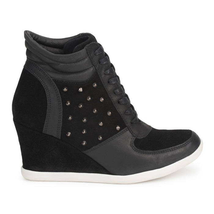 BETTY LONDON   Koidoc high top wedge trainer