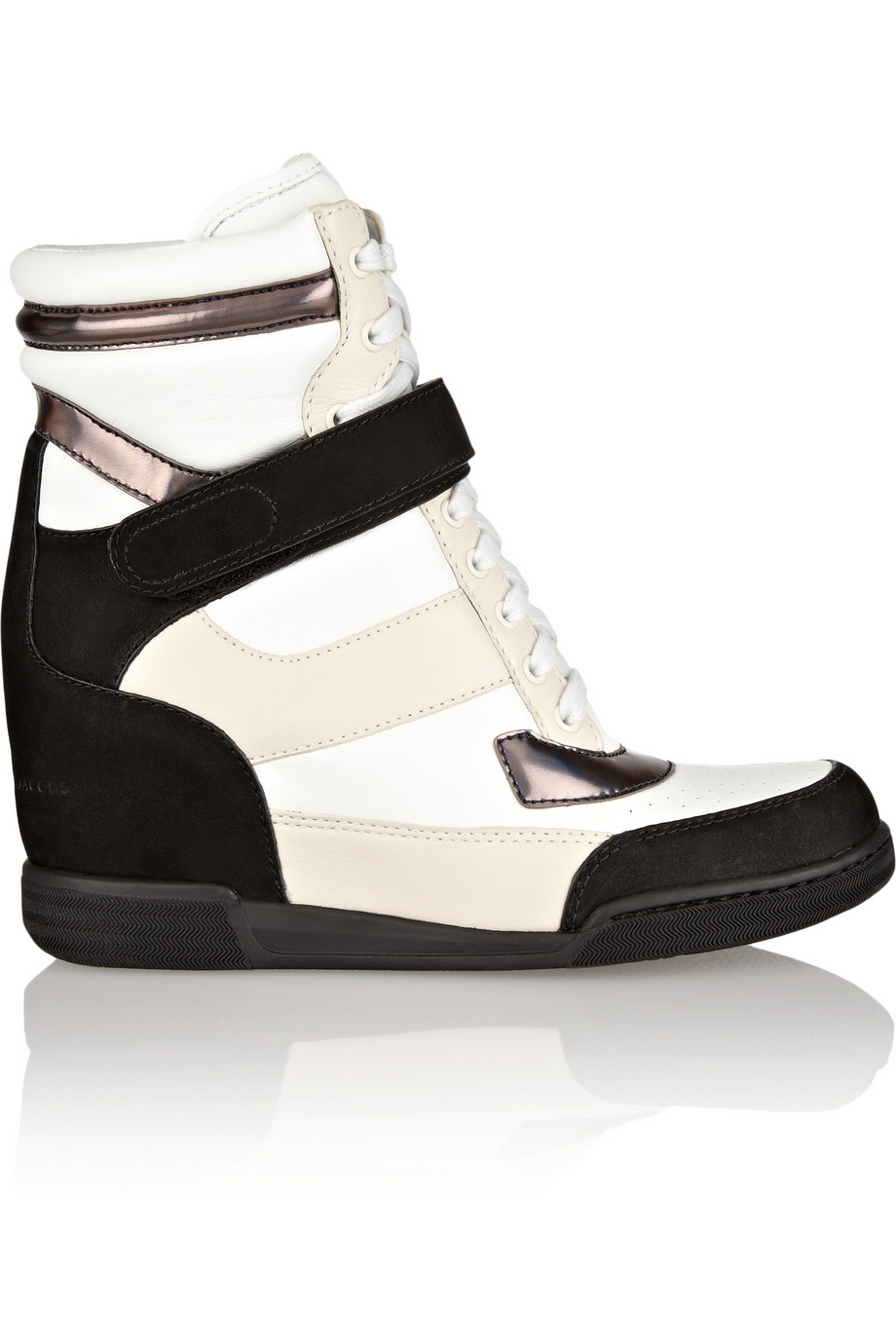 MARC BY MARC JACOBS   high top wedge trainers
