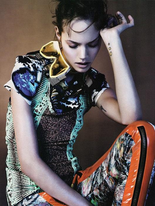 Josh Olins / Freja Beha Erichsen / Vogue UK / 2010