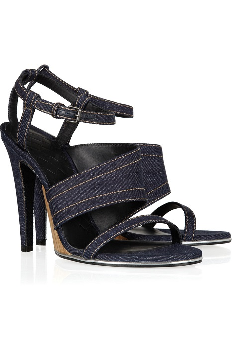 BOTTEGA VENETA   denim sandal