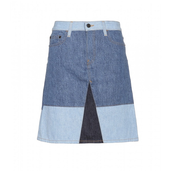 PROENZA SCHOULER   blue denim skirt