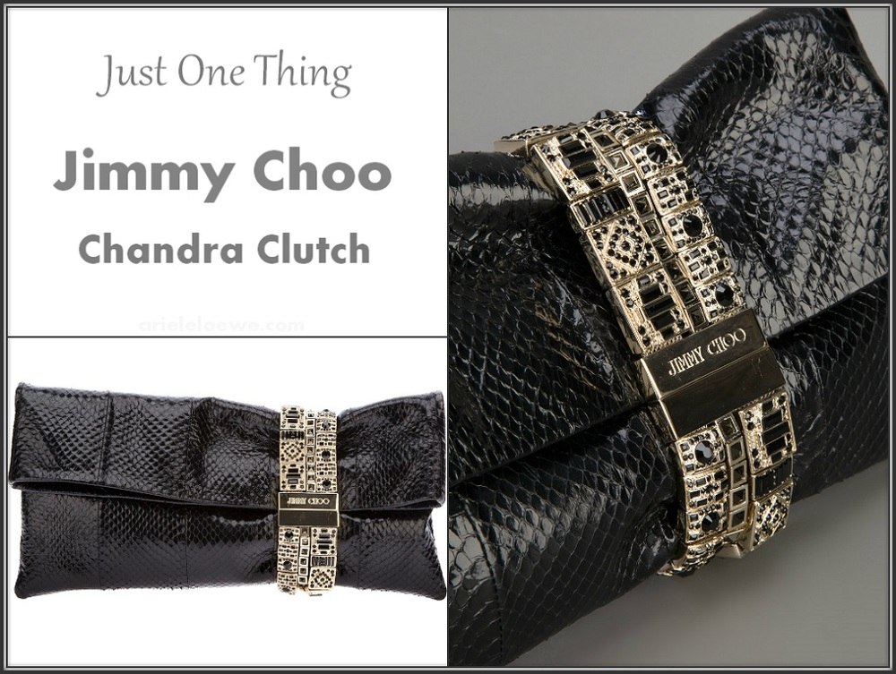 Just One Thing: Jimmy Choo Chandra Clutch