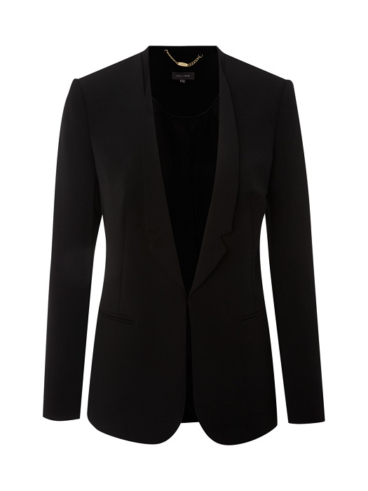 PIED A TERRE   black masculine jacket