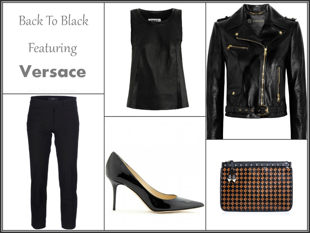 Back To Black Featuring Versace