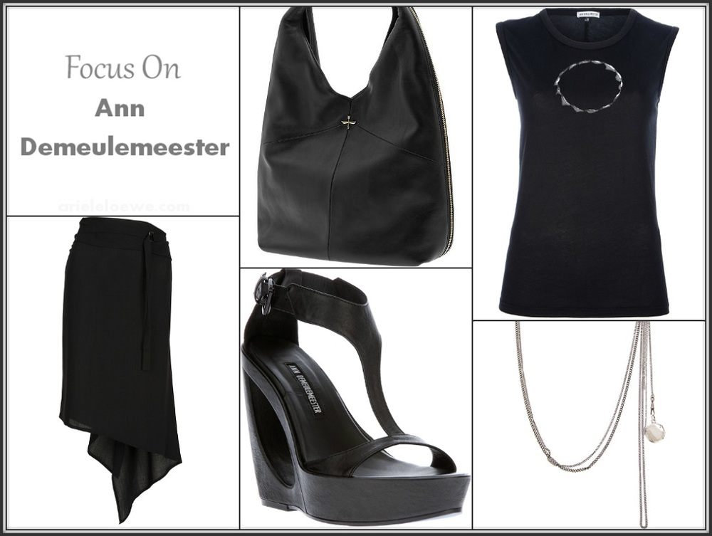 Focus On Ann Demeulemeester