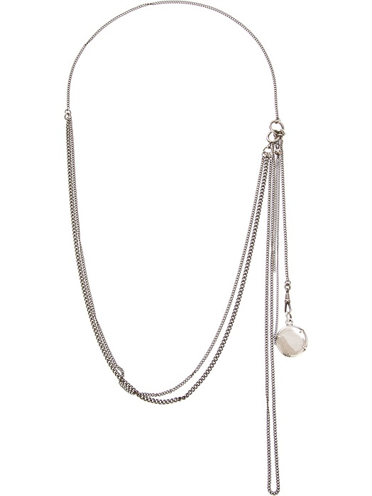 ANN DEMEULEMEESTER   capsule medallion necklace