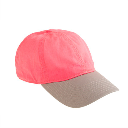 J CREW   colour block baseball cap