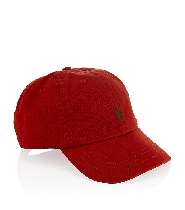 POLO RALPH LAUREN   classic sports cap in red
