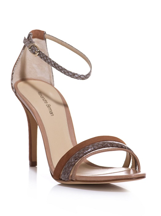 ALEXANDRE BIRMAN   brown suede sandals
