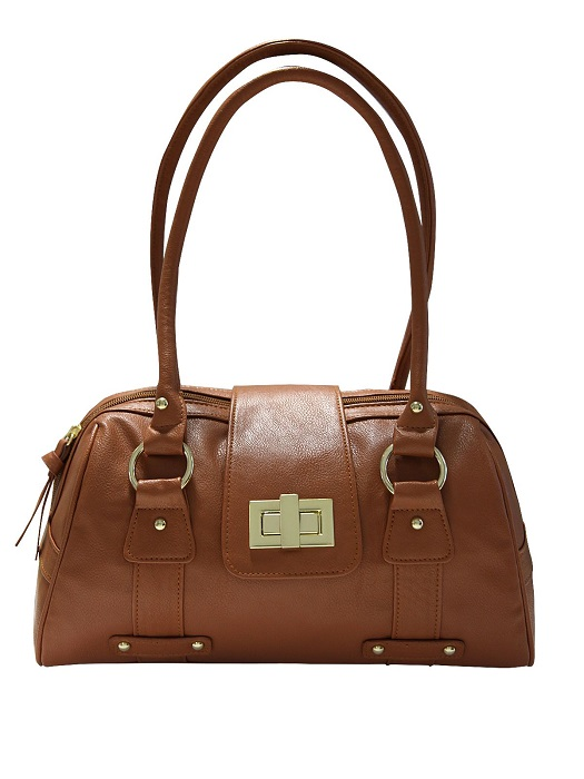 JANE NORMAN   turnlock shoulder bag