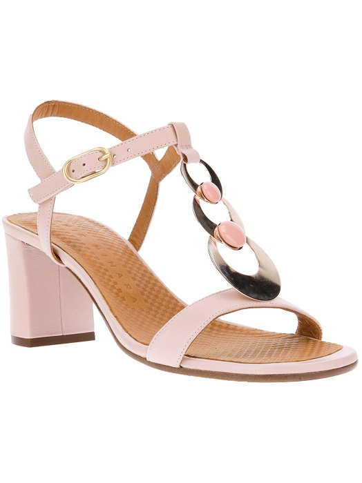 CHIE MIHARA   block heel disc sandal