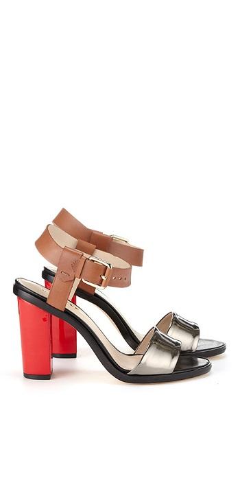 WHISTLES   Chi Chi block heel sandal
