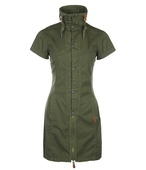 BENCH   khaki hipsta shirt dress
