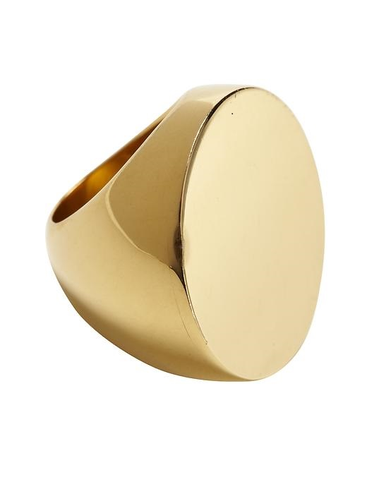 MICHAEL KORS   gold slice ring