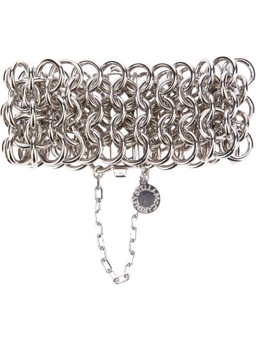 STELLA MCCARTNEY   silver chunky chain bracelet