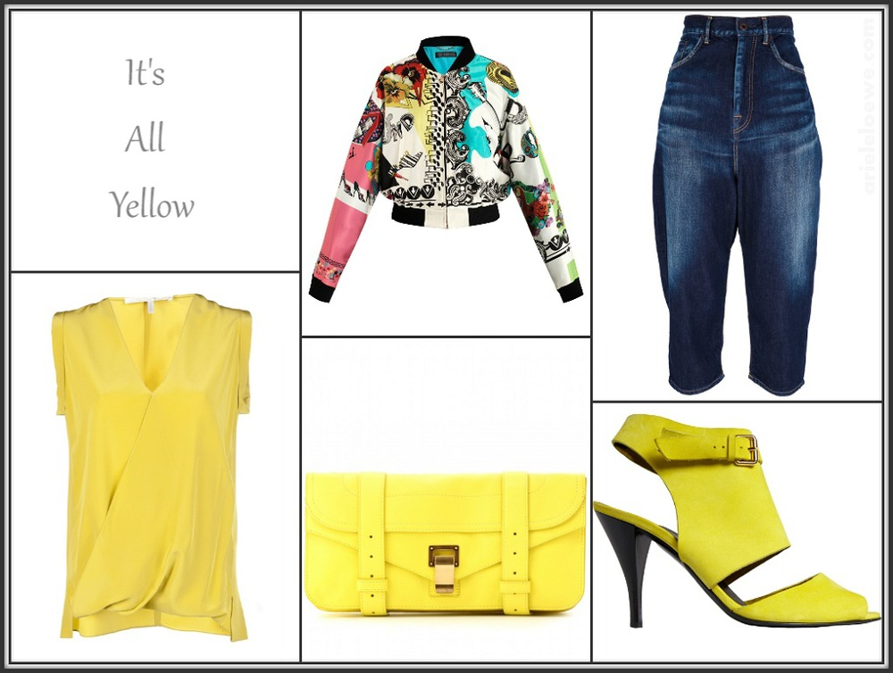 It's All Yellow Featuring Versace