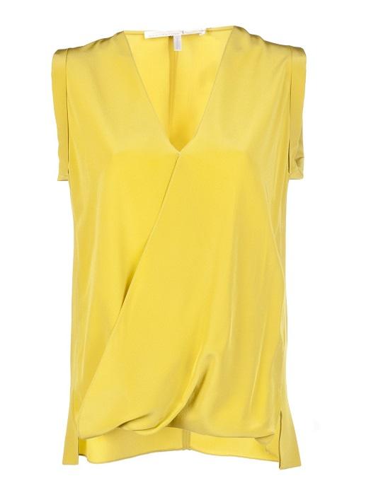 SCHUMACHER  yellow sweet romance blouse