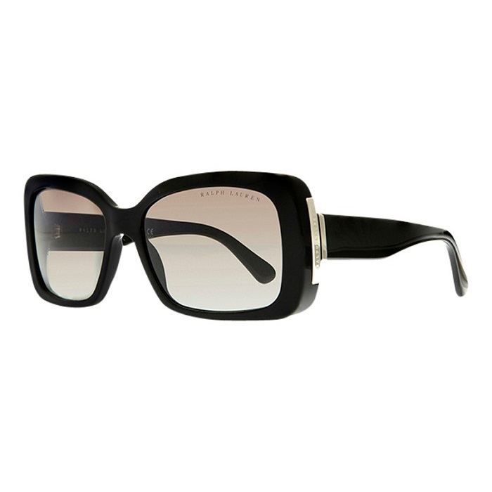 RALPH LAUREN   black square sunglasses
