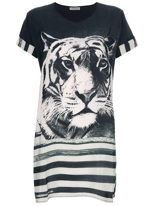 EMMA COOK   tiger stripe tunic dress