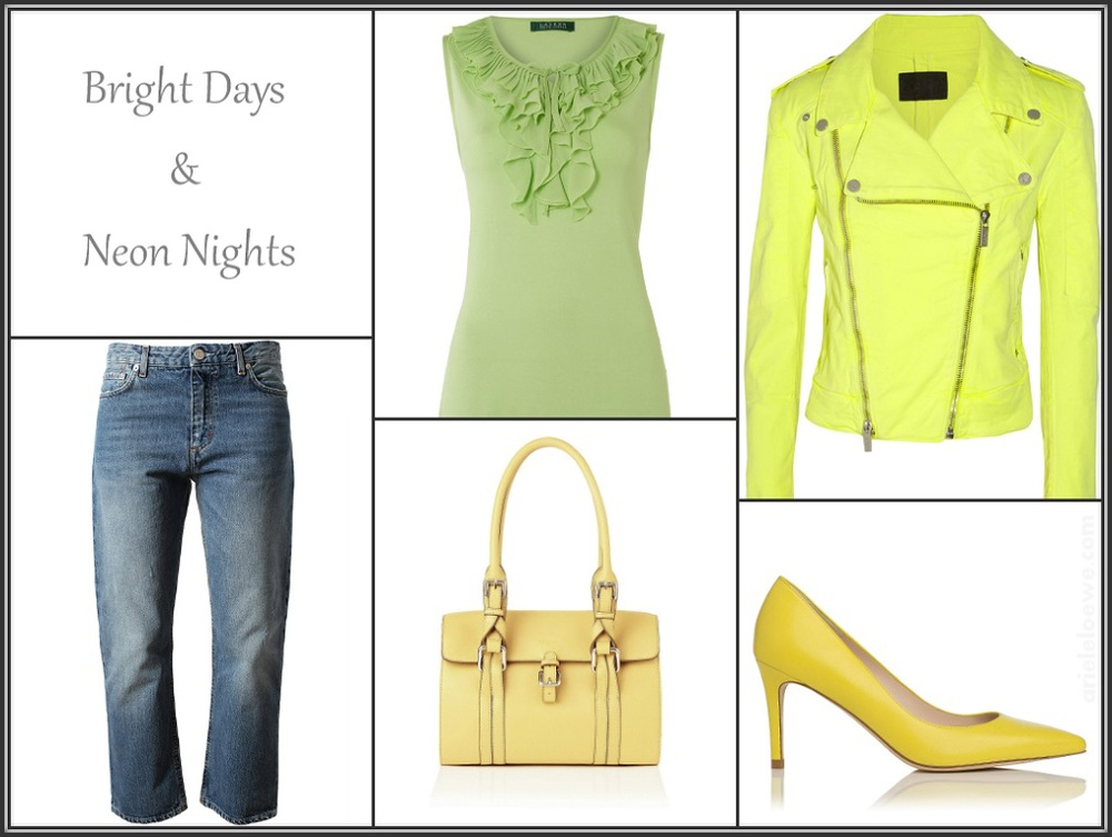 Bright Days and Neon Nights Featuring Karl Lagerfeld