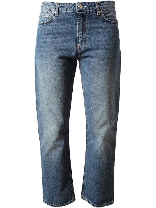 ACNE   blue pop betty classic denim jeans