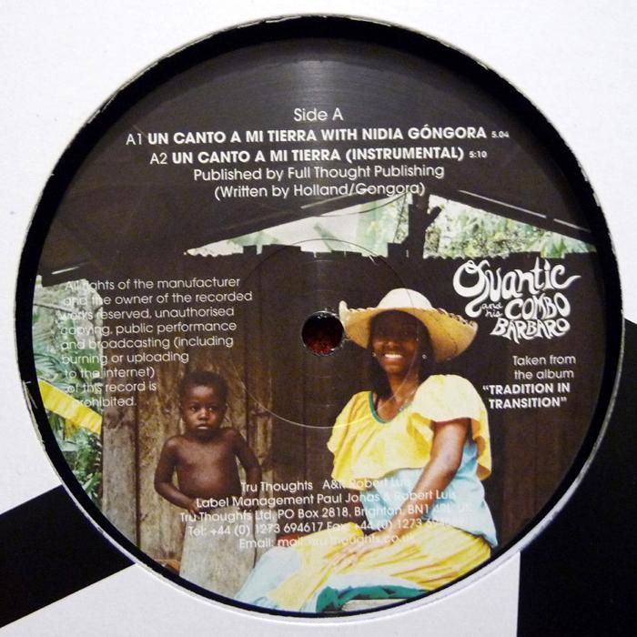 Quantic & His Combo Barbaro - Un Canto A Mi Tierra