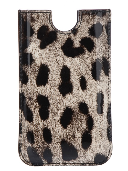 DOLCE & GABBANA   animal print iphone case
