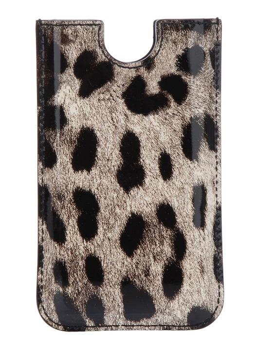 DOLCE & GABBANA   animal print iphone case