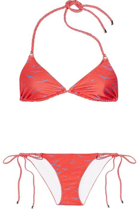 SHIMMI   birkin print triangle bikini