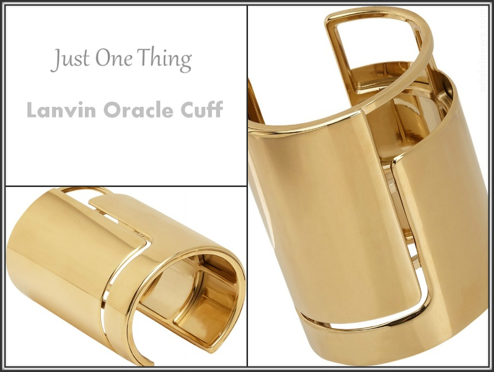 Lanvin Oracle Cuff