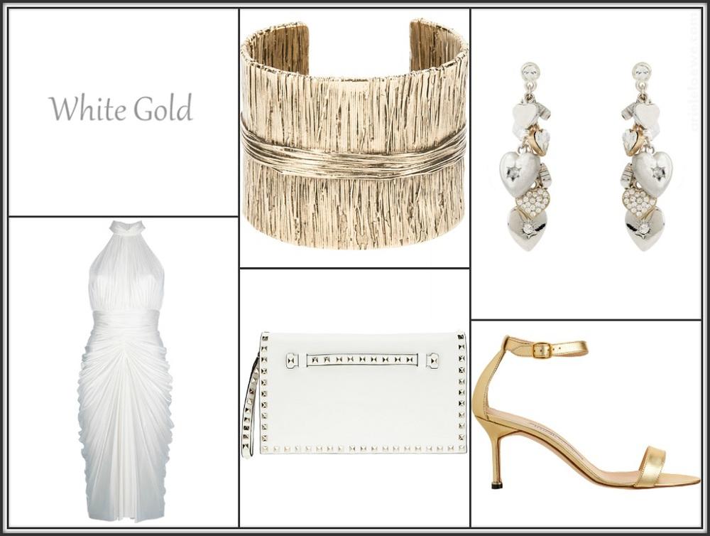 White Gold Featuring Alexander McQueen