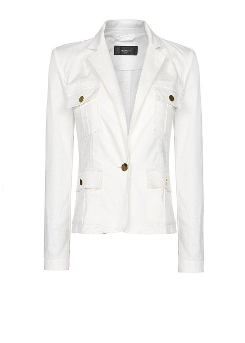 MANGO   safari style blazer   currently 33% off